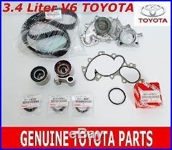 New Genuine Toyota Oem 3.4 5vzfe V6 Timing Belt & Water Pump Kit