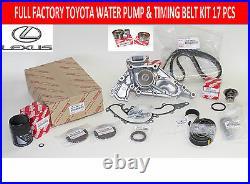 New Genuine Toyota Tundra Full Oem Water Pump Timing Belt Kit 4.7l V8 Eng