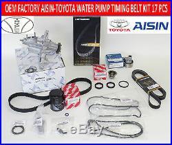 New Lexus Gs300 Is300 02-05 Complete Factory 16 Pcs Water Pump Timing Belt Kit