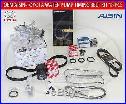 New Lexus Gs300 Is300 Complete 02-05 Factory 15 Pcs Timing Belt Water Pump Kit