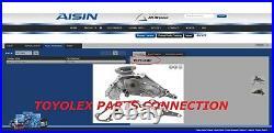 New Lexus Sc400 92 -97 Factory Oem Complete Timing Belt Water Pump Kit