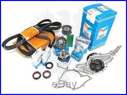 New OEM Audi 2.7T S4 RS4 A6 Allroad Deluxe Timing Belt & Water Pump Kit'00-05