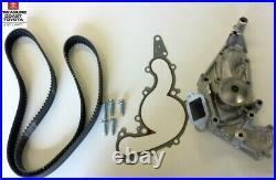 New Oem Toyota V8 4.7l 2000-2007 Tundra & Sequoia Water Pump & Timing Belt Kit