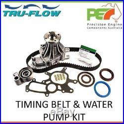 New TRU FLOW Timing Belt & Water Pump Kit For Toyota Hilux KUN26R 3.0L 1KD-FTV