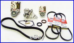 New Timing Belt Water Pump Kit Fits 2001-2011 Hyundai Accent 1.6L