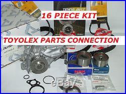 New Toyota Camry Rav4 2.0 & 2.2l Complete Oem Timing Belt Water Pump Kit 17 Pcs