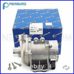 OEM Pierburg Engine Motor Radiator Cooling Electric Water Pump +Bolt Kit For BMW
