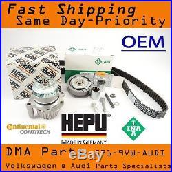 OEM VW Audi FSI BPY MK5 Jetta GTI Passat A4 Timing Belt Kit w Metal Water Pump
