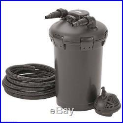 Oase Pontec Pondopress 10000 Fish Pond UV Pressure Filter & Water Pump Set UVC