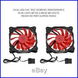PC Computer Water Cooling Kit 240mm Radiator 200mm Reservoir Pump CPU GPU Block