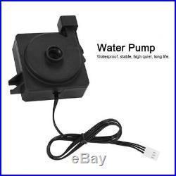 PC Liquid Water Cooling Kit 240mm Heatsink Pump Reservoir GPU CPU Bolck RGB Fan