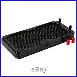 PC Liquid Water Cooling Kit Radiator Pump Reservoir 240mm CPU Bolck Heatsink