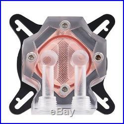 PC Water Cooling 240mm Radiador Kit Block Pump Reservoir LED Fan Heatsink