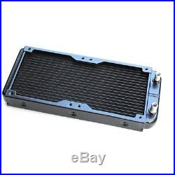 PC Water Cooling Complete Kit Reservoir Pump CPU GPU Blocks Radiator Fittings