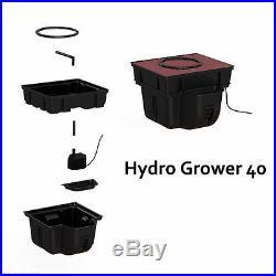 Platinium Hydro Grower 40 Hydroponic System 40x40cm + Water Pump Kit Growing