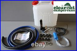 Plumbing Kit for Campervan Sink, Tap & Pump & 20l Water Container Suit Smev 8005