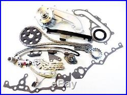 Premium Timing Chain Kit+Water Pump for 94-04 2.7L Toyota Tacoma 4Runn T100 3RZ