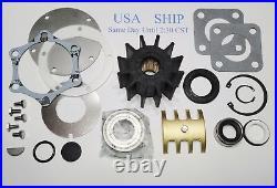 Raw Sea Water Pump Rebuild Kit Jabsco 2570 Detroit Diesel 23507971 653 671 853