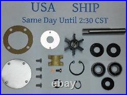 Rebuild Kit For Westerbeke Raw Sea Water Pump 32617 Johnson With Shaft 01-45069