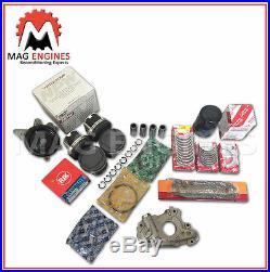 Rebuild Kit Toyota 1zz-fe 1.8 Ltr (pistons Rings Bearings Gasket Set Pump Chain)