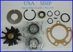 Repair Service Kit For Mercruiser Bravo Jabsco Raw Sea Water Pump 43210-0001