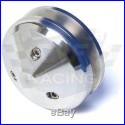 SBC Small Block Chevy V-Belt Pulley Kit 350 SWP Short Water Pump Billet Aluminum