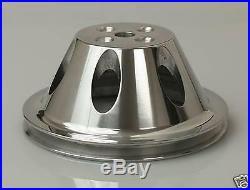 Sbc Chevy Aluminum Pulley Combo Kit Long Wp # 9482/9485