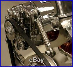 Sbc Chevy Turn Key Engine Dress Up Kit, Front Acc. Inc. Wp, Alt, Pulleys, Etc
