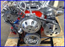 Sbc Engine Dress Up Kit For Long Water Pump, Incl. Wp, Alt, And Ps Pump