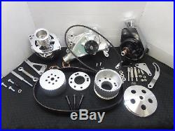 Sbc Turn Key Gilmer Acc Dress Up Complete Kit For Long Nose Water Pump Cr-x082