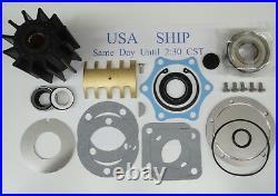 Sea Water Pump Rebuild Kit Jabsco 6980 Detroit Diesel 23507972 671T1 871 1271