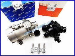 Set Behr Mahle Thermostat + Pierburg Elektr Wasserpumpe Bmw E81 E60 E90