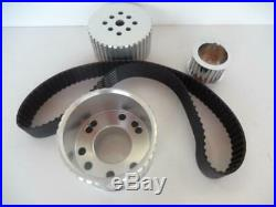 Small Block Chev Short Water Pump Gilmer Drive Kit With Belt Sbc Swp Chevy