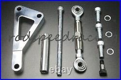 Small Block Chevy Long Water Pump Pulley Kit W Power Steering Pump & Alternator