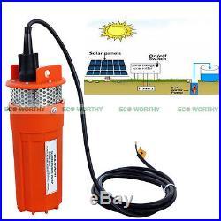 Solar Pump Kit160W Solar Panel + 12V Submersible Deep Well Pump Water Pump AU