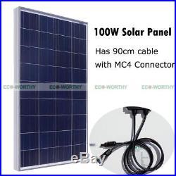 Solar Pump System Kits100W Solar Panel + 12V Deep Well Water Pump for Farm