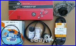 Timing Belt Kit Water Pump For Jeep Cherokee Liberty 2.8l Td 08-16