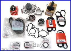 TIMING BELT KIT WATER PUMP Genuine & OE Manufacture Parts! 3.4 V6 15 PIECES