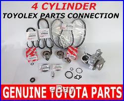 Toyota Timing Belt Kit Water Pump 2.0 2.2 Oem Factory Genuine Parts