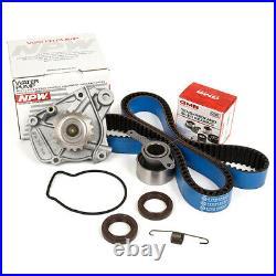 Timing Belt Kit NPW Water Pump Fit 92-95 Honda Civic 1.6L D16Z6 VTEC