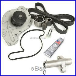 Timing Belt Kit Tensioner Water Pump Fit 05-10 Chrysler Dodge VW 3.5L 4.0L