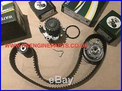 Timing Belt Kit WATER PUMP AUDI SEAT SKODA FORD VOLKSWAGEN 1.9 2.0 8V DIESEL