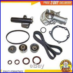 Timing Belt Kit Water Pump Fits 99-05 Mitsubishi 2.4L SOHC 4G64 Tensioner