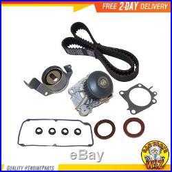 Timing Belt Kit Water Pump Valve Cover Fits 97-02 Mitsubishi 1.8L SOHC 4G93