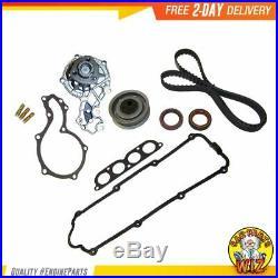 Timing Belt Kit Water Pump Valve Cover Gasket Fits 93-02 Volkswagen 2.0L SOHC