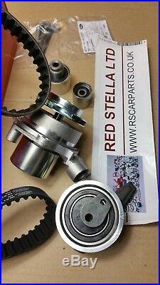 Timing Belt Kit water pump for AUDI VW SEAT SKODA 1.6 2.0 TDI KP15678XS 2011