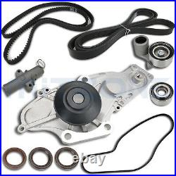 Timing Belt Kit with Water Pump for 03-17 Honda Accord Pilot Acura MDX Saturn 3.5L