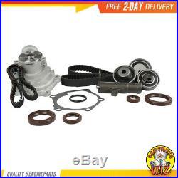 Timing Belt Water Pump Kit Fits 07-12 Mitsubishi Eclipse Galant 2.4L L4 SOHC 16v