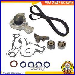 Timing Belt Water Pump Tensioner Kit Fits 91-99 Mitsubishi 3000GT Dodge 3.0L V6