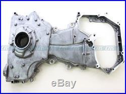 Timing Chain Cover Water Oil Pump Kit for 02-06 Nissan 2.5L QR25DE Altima Sentra
